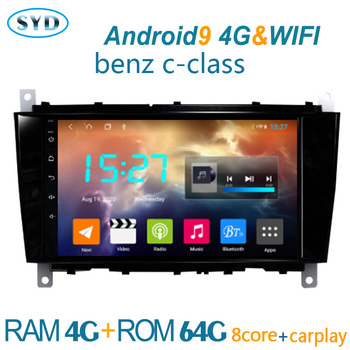 autoradio FOR Benz clase C CLC W203 W467 2004 2011 android DVD multimedia player GPS navigator coche audio auto stereo central image