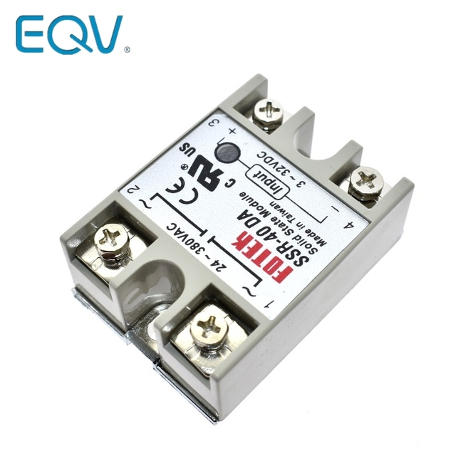Solid State Relay SSR 10DA SSR 25DA SSR 40DA 10A 25A 40A Actually 3 32V DC TO 24 380V AC SSR 10DA 25DA 40DA|Integrated Circuits|   -