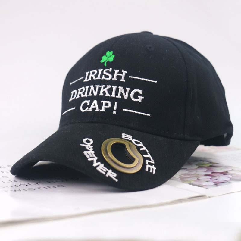 2020 Summer Beer Bottle Opener Letter Embroidery Printed Baseball Cap Men Women New Personality Cap Outdoor Leisure Sun Hat image
