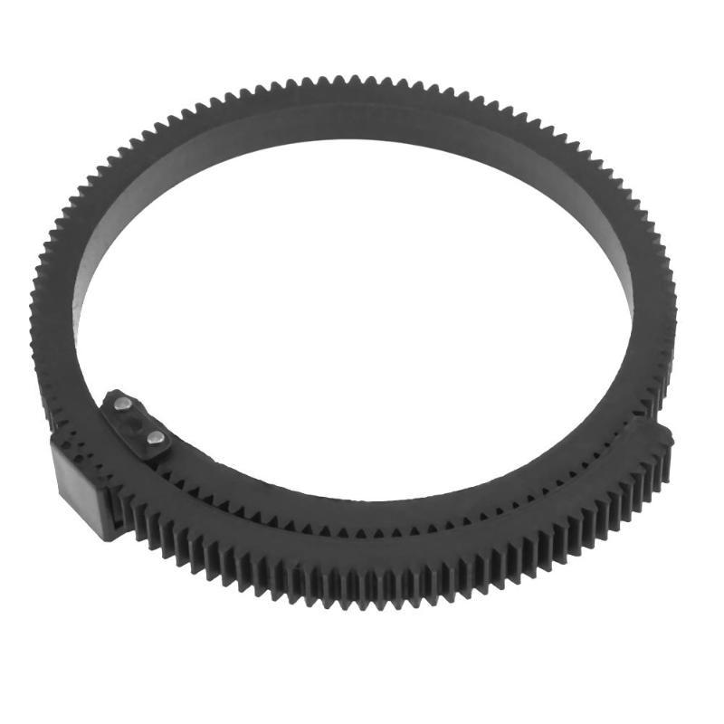 Adjustable Follow Focus Len Gear Ring Belt For SLR DSLR Camera Accessories Camcorder Camera 5D2 7D Hand Grip Camera Accessories