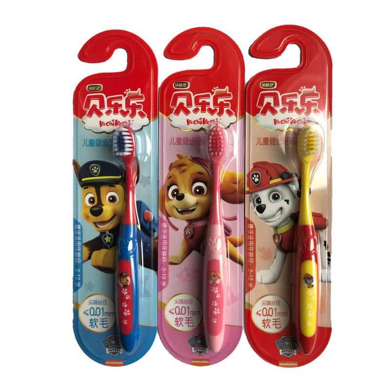 2020 New Genuine Paw Patrol chase marshall skye kids doll Tooth brush cup toothbrush spoon children toy Birthday Christmas gift image