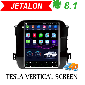 Jetalon Smart Car Navigation 4G Network for KIA sportage 2011-2015 stereo Android Car GPS Vertical radio Reversing All-in-One