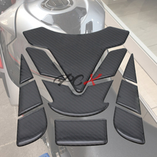 цена на GSXR LOGO motorcycle 3D carbon fiber tank fish bone decoration stickers Fit for Suzuki GSXR 600 750 1000 K1 K3 K4 K5 K6 K7 K8 K9
