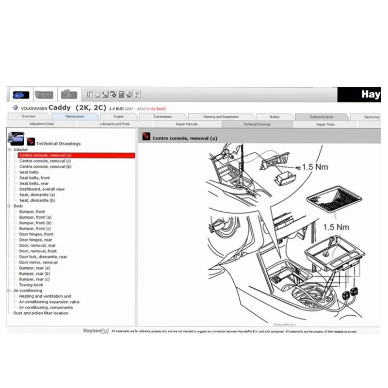 2020 Hot Vivid WorkshopData 2015.01 (Feno. nes Pro) o melhor modo de Garagem Oficina Automotiva Banco de Dados Software de Reparação para Europeu