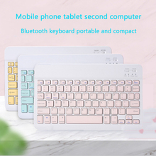 Portable wireless Bluetooth small keyboard tablet computer phone Apple Android universal external charging pro/air3/mini