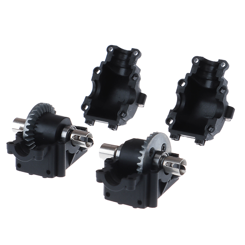 Venda quente 1 conjuntos caixa de onda diferencial para wltoys 144001 1/14 rc carro veículo modelos peças