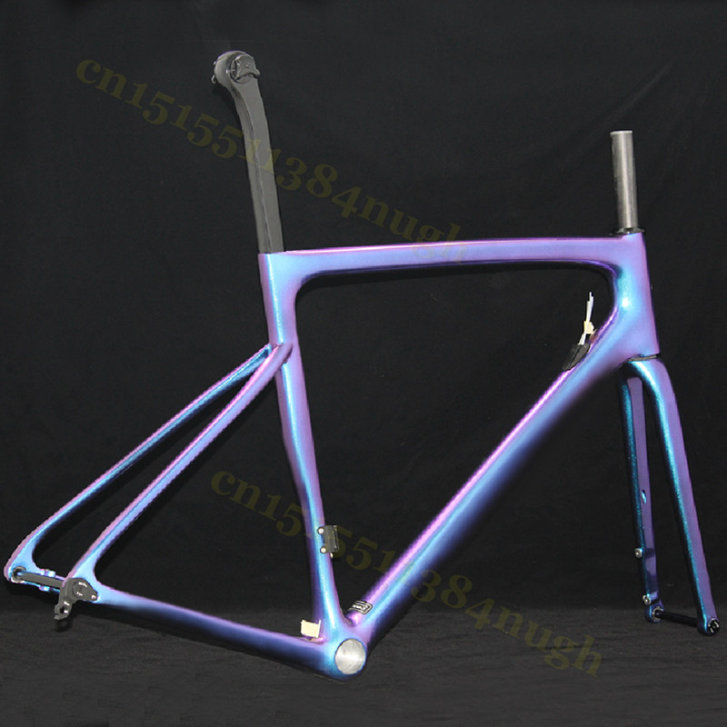 Sagan Chameleon Bicycle Frameset Axle 700C Road-Bike-Frame Brake DPD Carbon Made-In-Taiwan Rim/disc-Disk