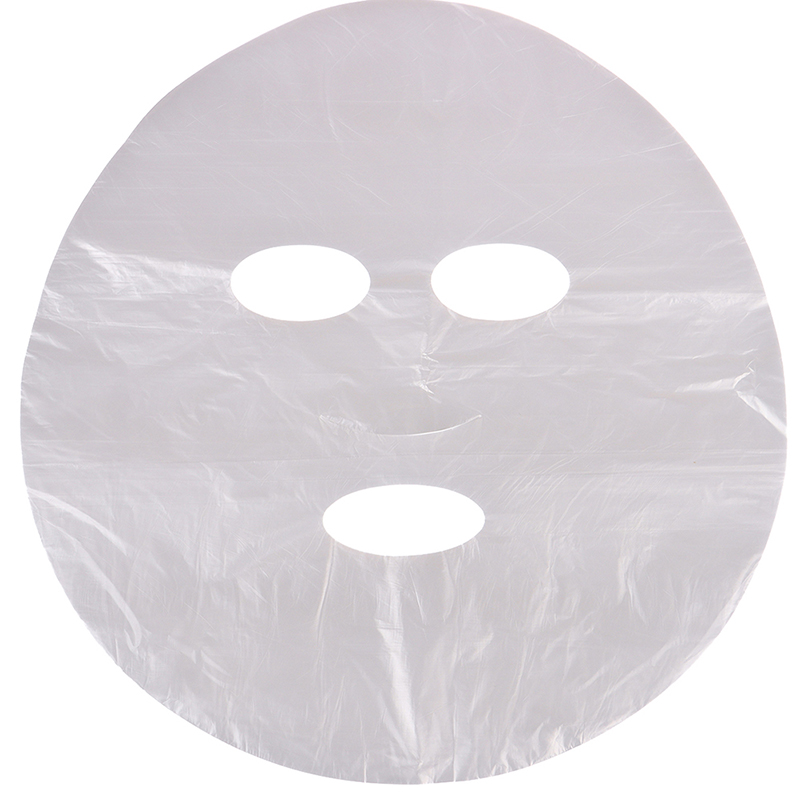 100Pcs/lot PE Full Face Cleaner Mask Natural Disposable Neck Stickers Eye Stickers Nose Stickers Face Mask Beauty Healthy Tool