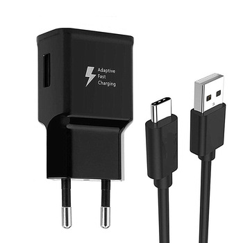 For Samsung galaxy S8 S10 A51 A71 A8 A9 2018 A3 A5 A7 2017 A50 A40 A30 A70 1M Type C Charge Cable Adaptive fast Charging adapter 1