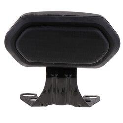 Black Detachable Backrest Sissy Bar Passenger Luggage Rack Universal for Motorcycle Electrombile