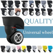 Luggage Accessories makeup suitcase on wheels trolley suitcase accessorie rolling wheels repair password  casters