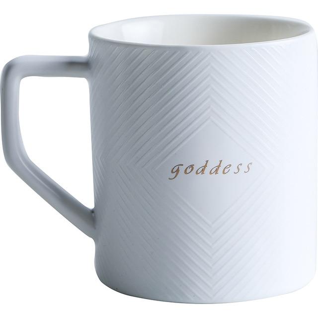 Фото черно белая кофейная кружка или чайная чашка для свадебного