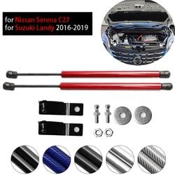 Voor Nissan Serena C27 2016-2019 Voor Suzuki Landy Motorkap Bonnet Wijzigen Gasveren Koolstofvezel Lift Ondersteuning shock Damper