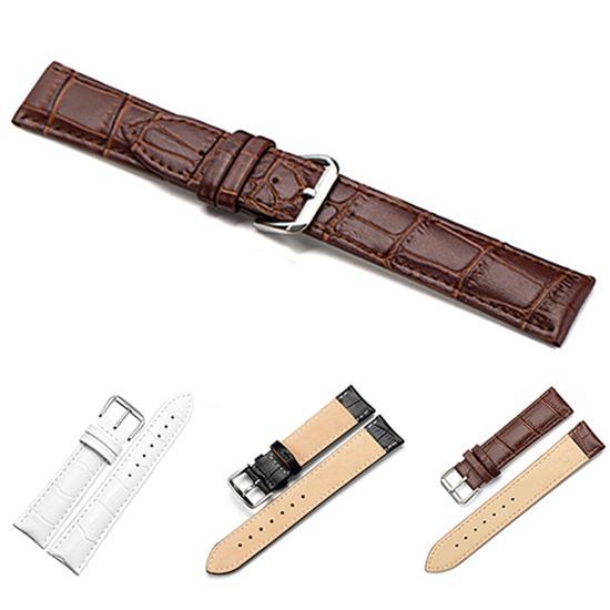 Universal Replacement Leather Watch Strap Leather Watchband for Men Women 16mm 18mm 20mm 22mm Watch Strap Band ремешок для часов