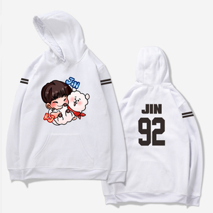 JIMIN J-HOPE Jeong KOOK SUGA Hoodie Sweatshirt Bangtan Boys Hoodies Streetwear Clothing Print Women/men Kpop Hip Hop Hooded