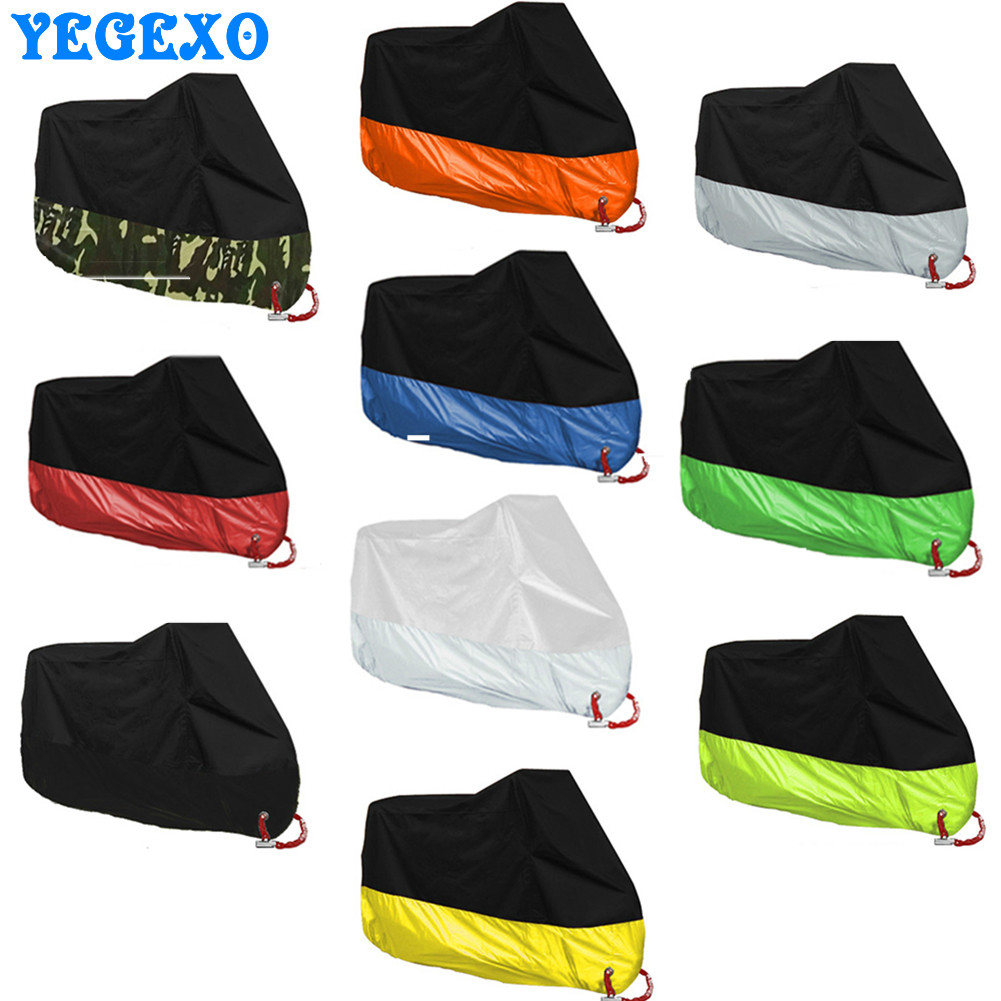 Universal Motorcycle Cover M L XL 2XL 3XL 4XL Indoor Outdoor Uv Protector For Scooter Motorbike Waterproof Rain Dustproof Cover