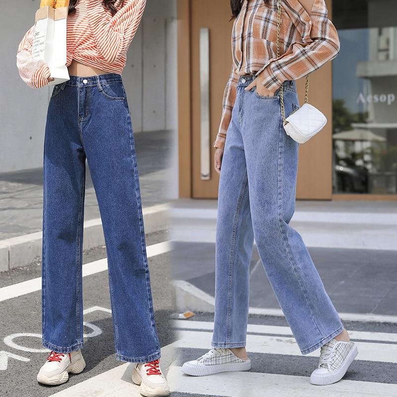 Fa9012 Pantalones Vaqueros Informales A La Moda Para Mujer Ropa Vaquera Para Mujer 2019 Pantalones Vaqueros Aliexpress