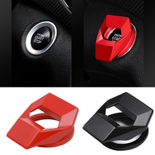 Universal Lambo Style Aluminum Alloy Engine Start Stop Switch Accessories Key Decor Button Trim Cover Red For BMW AUDI VW FORD(China)