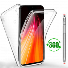 Note7 360 Protection Phone Case for Xiaomi Redmi Note 7 Pro Soft Protective Cover ksiomi red mi 7A redmi7 redmi7a note7pro coque