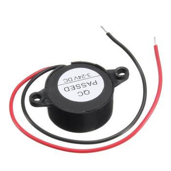 Автомобильный аварийный сигнал 95 дБ DC 3-24V 5V 1Car 12V звуковой сигнал пьезо электронный звуковой сигнал 95db непрерывный звуковой сигнал