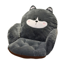 Lovely Cartoon Chair Cushion for Home Office Thicken Seat Pad Pillow Car Seat Sofa Home Decorative  For The Living Room Decor slowdream nordic deer sofa cover assemble sofa for living room removable stretch elastic band home seat decorative slipcover