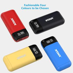Image 5 - XTAR Power Bank Charger PB2S QC3.0 Type C INPUT 2019 NEWST USB Charger 21700 20700 18700 18650 Battery LCD Fast Battery Charger