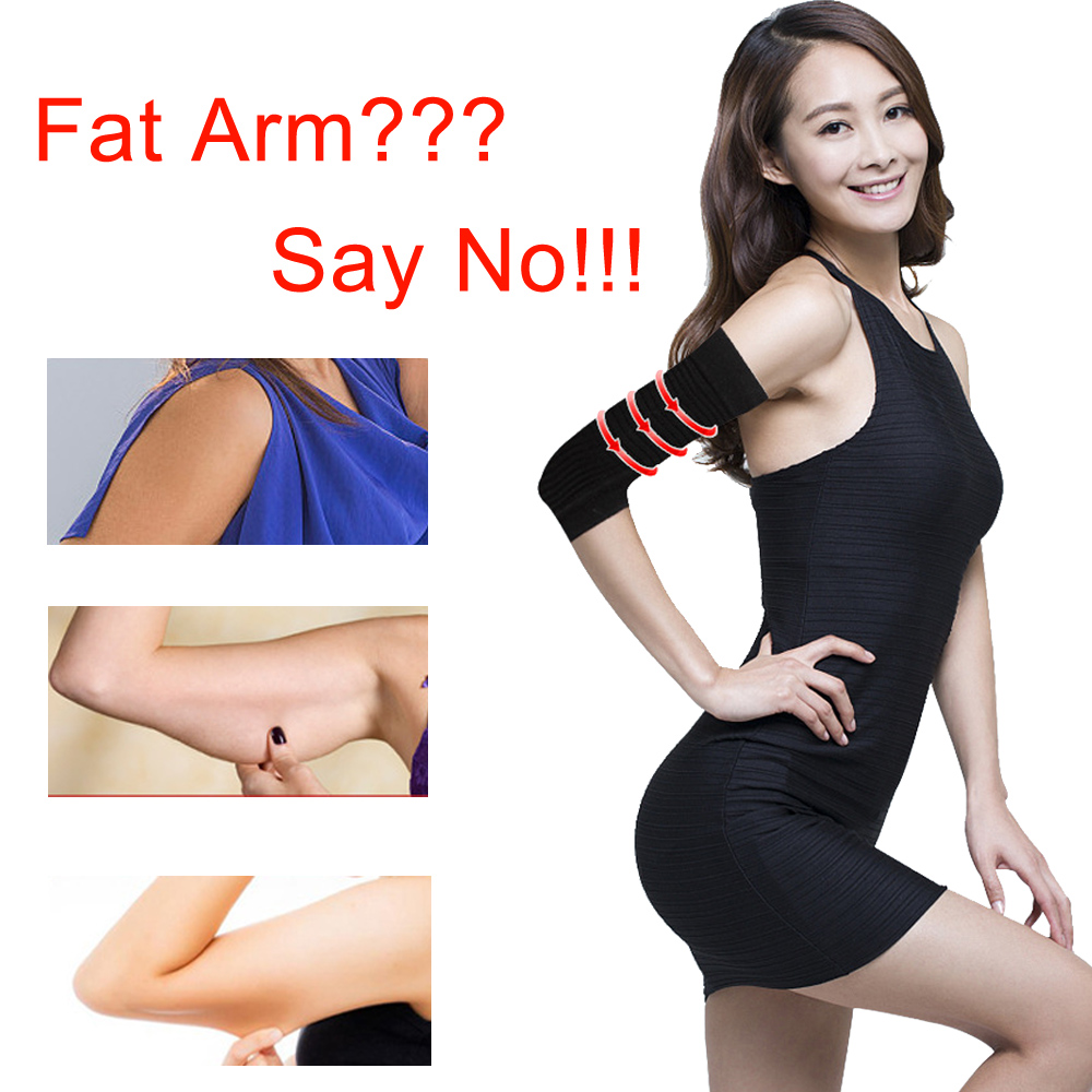 2 Pcs Slimming Arm Leg Shaper Belt Slim Massager Wraps Lose Fat Burner Weight Loss Tennis Fitness Elbow Socks Strap Products