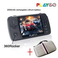 Новая эмуляторная консоль 3,5 дюймов PlayGo портативная игровая консоль Ретро игры, встроенные в другие игры с одной сумкой для консоли