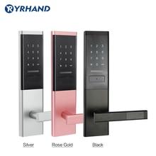 Elektroniczny zamek do drzwi bezpieczeństwa, inteligentny ekran dotykowy blokady, kod cyfrowy Deadbolt klawiatury