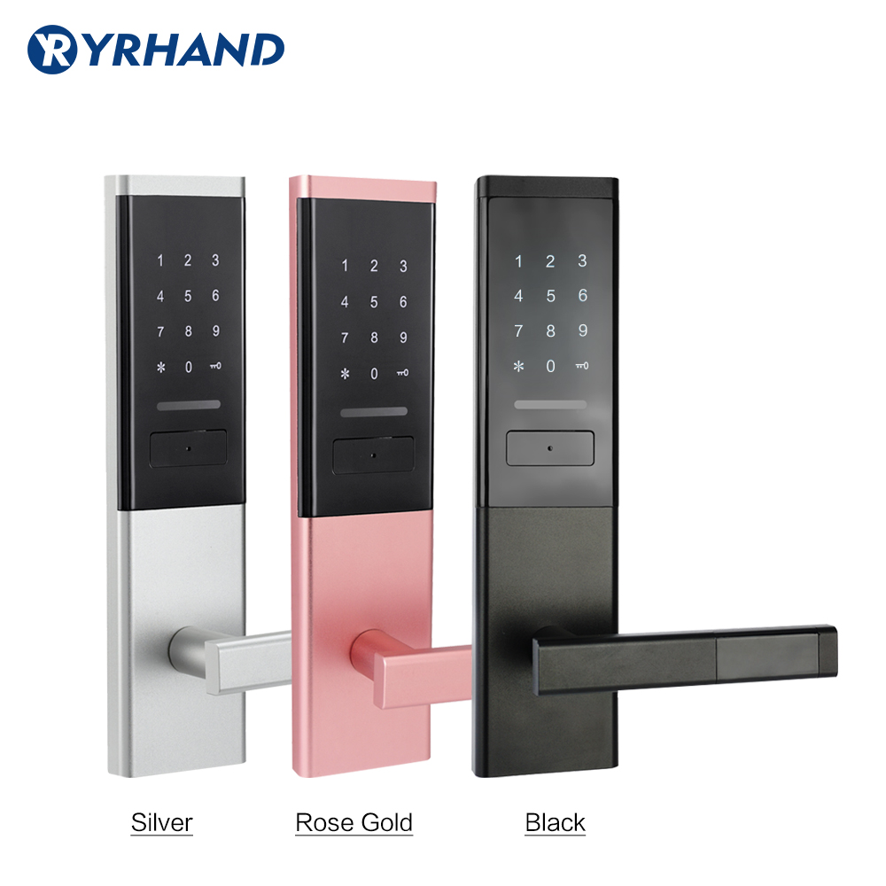 Security Electronic Door Lock, Smart Touch Screen Lock,Digital Code Keypad Deadbolt-in Electric Lock from Security & Protection