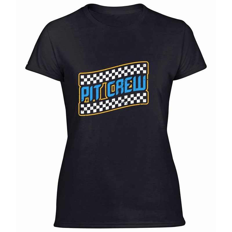 Vintage Pit Crew motocykl wyścigowy Sport Speedway samochód t-shirt na prezent mężczyźni graficzne 2020 kobiet t-shirty odzież Tee topy