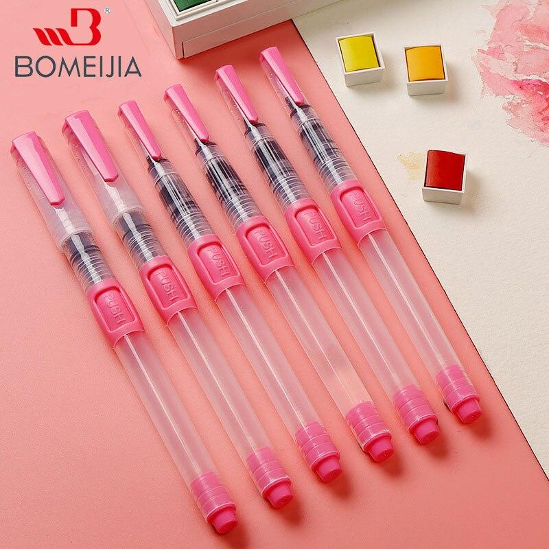 Улучшенный 6 шт. водяная краска набор кистей большой емкости мягкая кисть для акварельной живописи ручка для начинающих рисования
