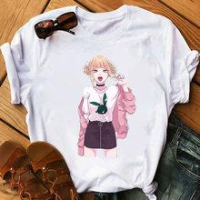 Senpai himiko toga waifu japonês anime feminino t camisa engraçado dos desenhos animados t camisa de moda gráfico camiseta kawaii femme meu herói academia