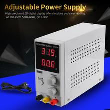 DC 0-30V 0-10A Adjustable Digital Display DC Power Supply Laboratory Switching Power Source AC110/220V Input