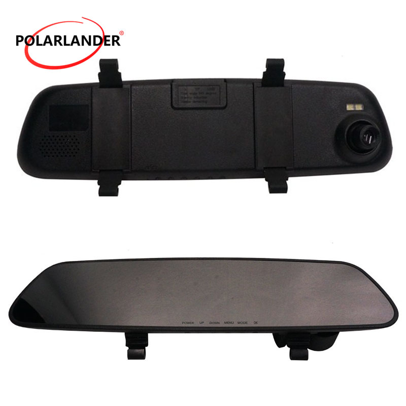 120 degree wide angle night vision <font><b>Car</b></font> <font><b>DVR</b></font> Camera Video Recorder 2.7inch TFT Screen <font><b>Car</b></font> Rearview <font><b>Mirror</b></font> <font><b>DVR</b></font> video Recorder image