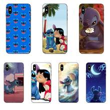 Lilo E Stitch Macio Legal Melhor Case Capa Para Apple iPhone 4 4S 5 5S SE 6 7 6S 8 Plus X XS Max XR(China)