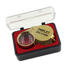Jeweler Loupe Eye Magnifying Glasses Magnifier 30X Magnification Lens