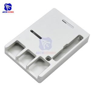 Image 5 - Raspberry Pi Model B Cnc Aluminium Case Ultra Dunne Metalen Doos Bescherming Case Voor Raspberry Pi 4 Model B Met Tool
