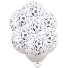 "10pcs/lot 12inch Thicken Soccer Balls 12"" Football Latex Balloons Birthday Party Decoration Childrens Toys Football Theme"