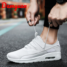 Autumn New Air Cushion Couple Running Shoes Fashionable Comfortable Air-permeable Sports Outdoor Walking Leisure