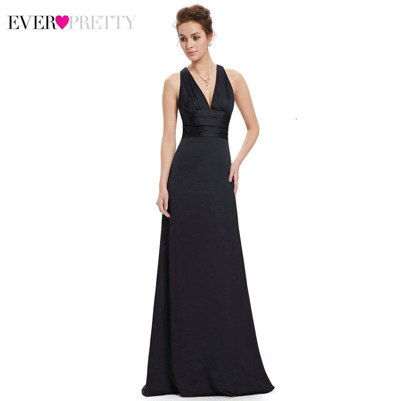 Сексуальные кружевные вечерние платья Ever Pretty А-силуэта с круглым вырезом и рукавом до локтя из тюля прозрачные элегантные длинные вечерние платья Robe De Soiree - Цвет: EP09008BK