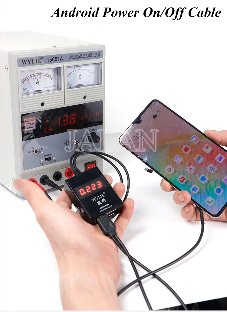 Power-Supply Android-Series Huawei Samsung For Test-Cable WYLIE DC