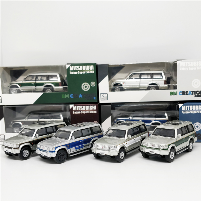 1:64 BM Creations Mitsubishi Pajeo 2nd Gen Diecast Model Car
