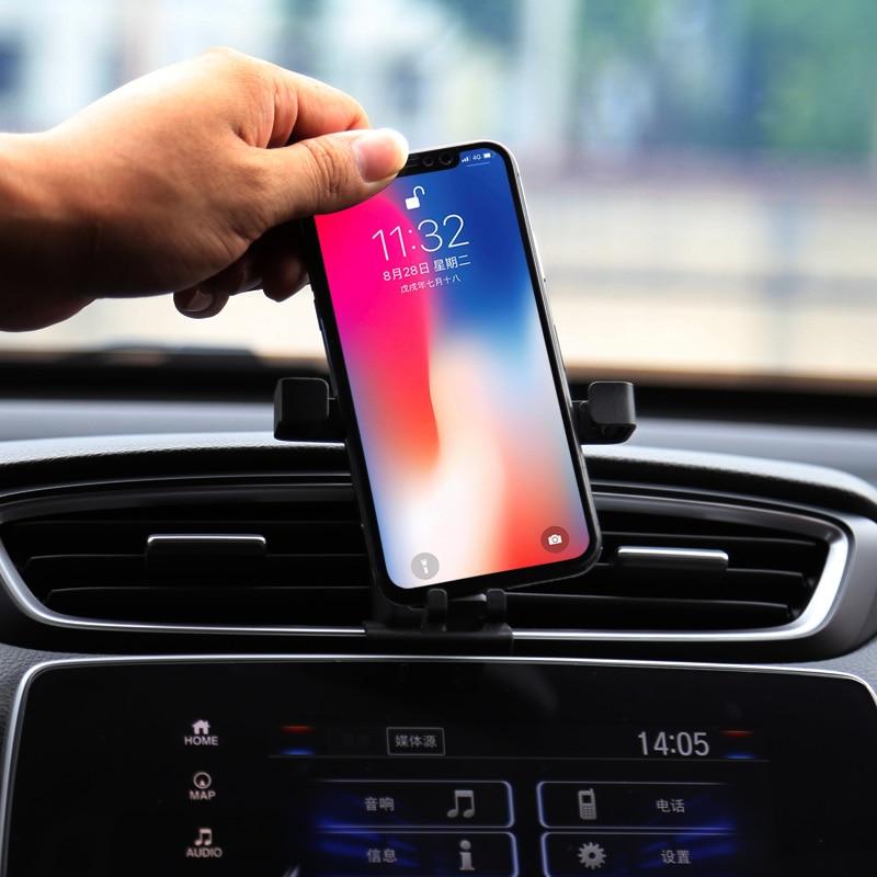 Car phone holder For Honda CRV CR-V 2017 2018 2019 car special outlet car phone holder decorative car accessories