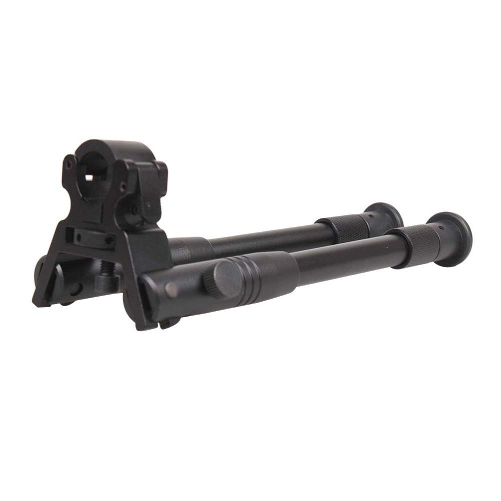 6 Inch Round Head Bipod Multi-function Adjustable Camera Two Pin Bracket