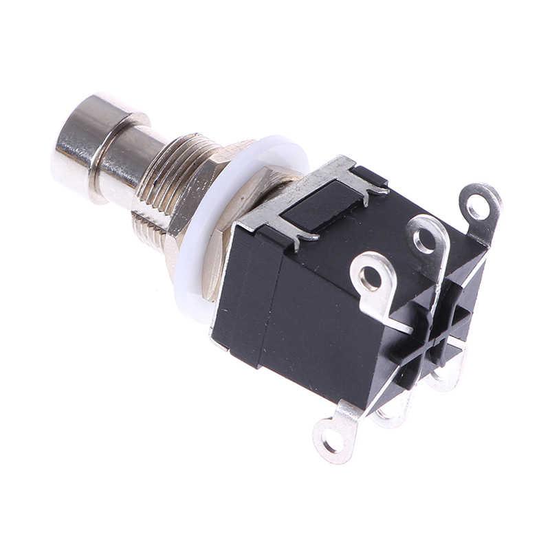 Przełącznik on-off elektryczny pedał efektów gitarowych przełączniki nożne obwodnica wysokiej jakości Pbs-24-202 chwilowy 6 stóp