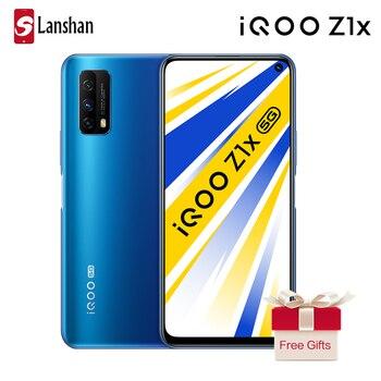 Перейти на Алиэкспресс и купить Смартфон IQOO Z1x, 5G, 6 ГБ, 64 ГБ, Snapdragon76, 5G, 5000 мАч, большой аккумулятор, 33 Вт, 6,57 дюймов, 120 Гц, 48 МП, 2020