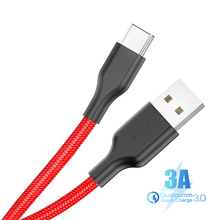 USB Type C Cable for xiaomi redmi k20 pro Mobile Phone Fast Charging Type-C Devices