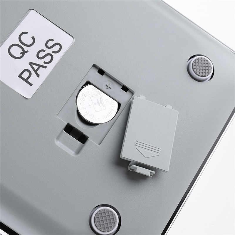 DIGOO DG-TGK1 الرقمية تشديد الزجاج مقياس 1 جرام/5 كجم ميزان المطبخ الترا سليم الزجاج المقسى شاشة الكريستال السائل المطبخ Mesuring أداة