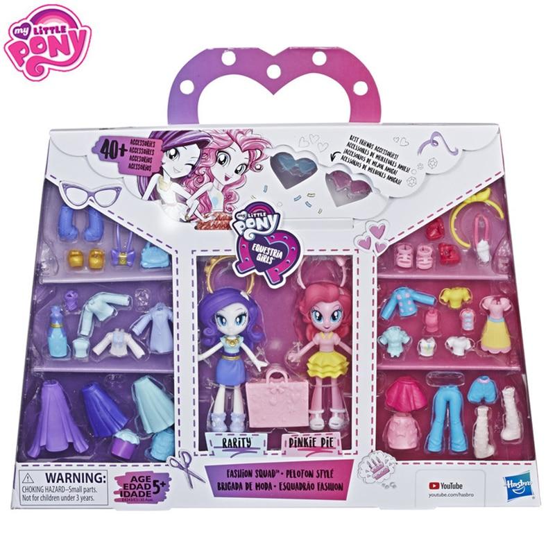 Набор Кукол My Little Pony Equestria, модный мини-набор с 40 аксессуарами, игрушки для девочек